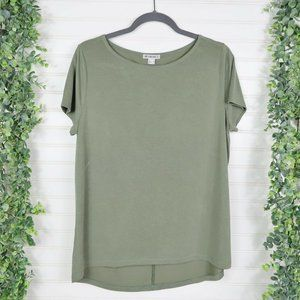 Forever 21 Activewear Workout Green T-Shirt Size L